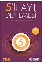 10 Adım Yayıncılık - 10 Adım Yayıncılık 5'li AYT Denemesi