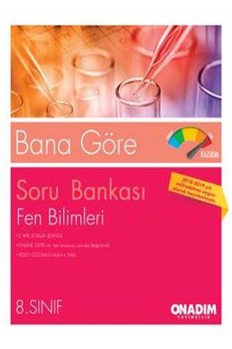 10 Adım Yayıncılık 8. Sınıf Bana Göre Fen Bilimleri Soru Bankası