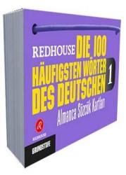 Redhouse Yayınevi - Redhouse Die 100 Häufigsten Wörter des Deutschen 1 Almanca Sözlük Kartları