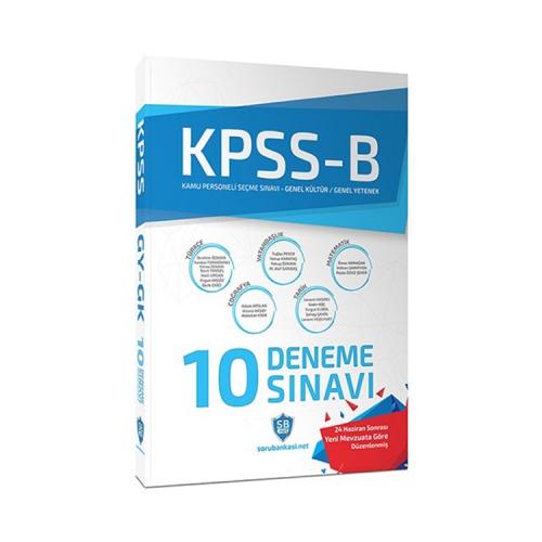 KPSS B Genel Yetenek Genel Kültür Çözümlü 10 Deneme Sınavı