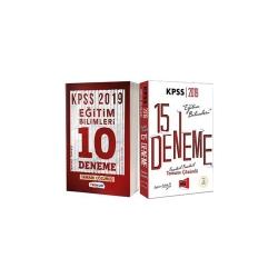 Yargı Yayınevi - 2019 KPSS Eğitim Bilimleri Tamamı Çözümlü 25 Deneme Seti
