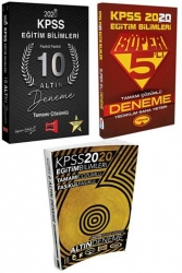 Yargı Yayınları - 2020 KPSS Eğitim Bilimleri 3 Büyüklerden Tamamı Çözümlü Kazandıran Deneme Seti