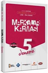 Marka Yayınları - 2020 KPSS Lise Ön Lisans Markalar Karması 5 Farklı Yayın PDF Çözümlü Deneme Sınavı Seti
