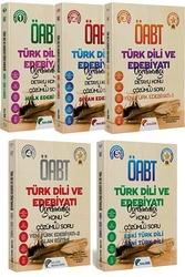 Yekta Özdil - 2020 ÖABT Türk Dili ve Edebiyatı Öğretmenliği Konu Anlatımlı Soru Bankası Seti 5 Kitap Yekta Özdil