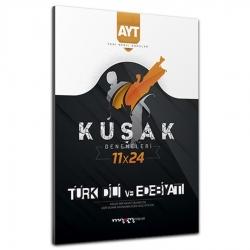 Marka Yayınları - 2021 AYT Yeni Nesil Kolaydan Zora 11x24 Türk Dili ve Edebiyatı Kuşak Deneme Marka Yayınları