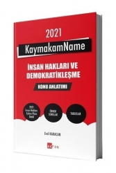 Akfon Yayınları - 2021 KaymakamName İnsan Hakları Konu Anlatımı Erol Karacan Akfon Kitap