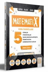 Benim Hocam Yayıncılık - 2022 KPSS ALES DGS MatematiX Soru Fasikülleri 5 Benim Hocam Yayınları