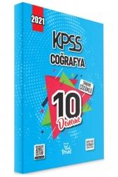 Yeni Trend Yayınları - 2021 KPSS Coğrafya Tamamı Çözümlü 10 Deneme Yeni Trend Yayınları