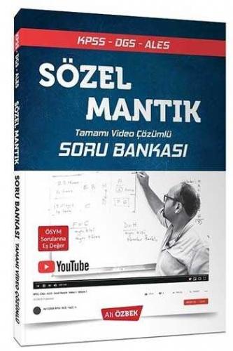 2021 KPSS DGS ALES Sözel Mantık Tamamı Video Çözümlü Soru Bankası Ali Özbek