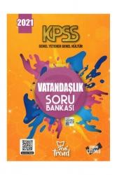 Yeni Trend Yayınları - 2021 KPSS Genel Yetenek Genel Kültür Vatandaşlık Soru Bankası Yeni Trend Yayınları