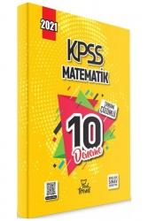 Yeni Trend Yayınları - 2021 KPSS Matematik Tamamı Çözümlü 10 Deneme Yeni Trend Yayınları