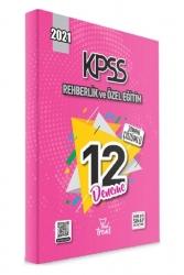 Yeni Trend Yayınları - 2021 KPSS Rehberlik ve Özel Eğitim 12 Çözümlü Deneme Yeni Trend Yayınları