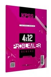 Marka Yayınları - 2021 KPSS Yeni Nesil 4x12 Tamamı Video Çözümlü Problemler Deneme Marka Yayınları