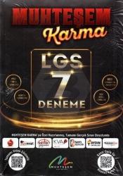 Muhteşem Yayınları - 2021 Muhteşem Karma LGS 7 li Deneme Seti - Muhteşem Yayınları