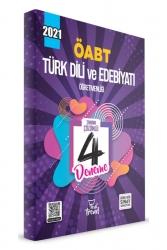 Yeni Trend Yayınları - 2021 ÖABT Türk Dili ve Edebiyatı 4 lü Deneme Yeni Trend Yayınları