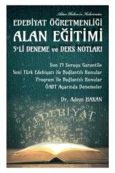 İndeks Kitap - 2021 ÖABT Türk Dili ve Edebiyatı Alan Eğitimi 5 Deneme ve Ders Notları Adem Hakan
