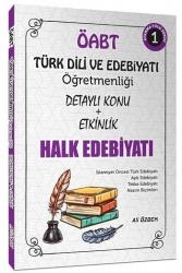 Ali Özbek - 2021 ÖABT Türk Dili ve Edebiyatı Halk Edebiyatı Konu Anlatımlı 1. Kitap Ali Özbek