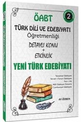 Ali Özbek - 2021 ÖABT Türk Dili ve Edebiyatı Yeni Türk Edebiyatı Konu Anlatımlı 2. Kitap Ali Özbek
