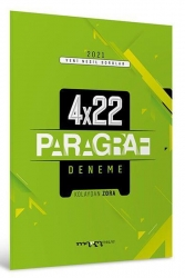 Marka Yayınları - 2021 TYT Yeni Nesil Kolaydan Zora 4x22 Paragraf Deneme Marka Yayınları