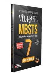 DDY Yayınları - 2021 Velhasıl MBSTS Tamamı Çözümlü 7 Deneme DDY Yayınları