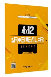 Marka Yayınları - 2021 Yeni Nesil 4x12 Tamamı Video Çözümlü Problemler Deneme Marka Yayınları