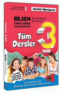 3. Sınıf Tüm Dersler Bilsem Sınavlarına Hazırlık Kitabı Yargı Yayınları