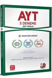 3D Yayınları - 3D Yayınları AYT Eşit Ağırlık Tamamı Video Çözümlü 5 Deneme
