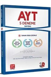 3D Yayınları - 3D Yayınları AYT Sayısal Tamamı Video Çözümlü 5 Deneme