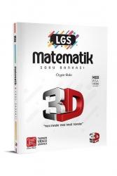 3D Yayınları - 3D Yayınları LGS Matematik Soru Bankası Tamamı Video Çözümlü
