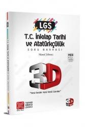 3D Yayınları - 3D Yayınları LGS T.C. İnkılap Tarihi ve Atatürkçülük Soru Bankası Tamamı Video Çözümlü