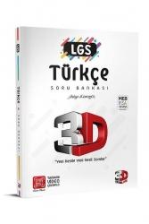 3D Yayınları - 3D Yayınları LGS Türkçe Soru Bankası Tamamı Video Çözümlü