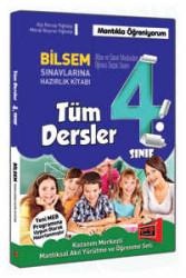 Yargı Yayınevi - 4. Sınıf Tüm Dersler Bilsem Sınavlarına Hazırlık Kitabı Yargı Yayınları