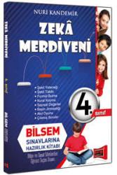 Yargı Yayınları - 4. Sınıf Zeka Merdiveni Bilsem Sınavlarına Hazırlık Kitabı Yargı Yayınları