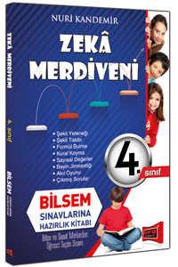 4. Sınıf Zeka Merdiveni Bilsem Sınavlarına Hazırlık Kitabı Yargı Yayınları