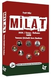 4T Yayınları - 4T Yayınları 2020 KPSS Milat Tarih Tamamı Çözümlü Soru Bankası