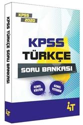 4T Yayınları - 4T Yayınları 2020 KPSS Türkçe Soru Bankası