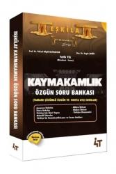 4T Yayınları - 4T Yayınları 2021 Teşkilat Kaymakamlık Özgün Soru Bankası