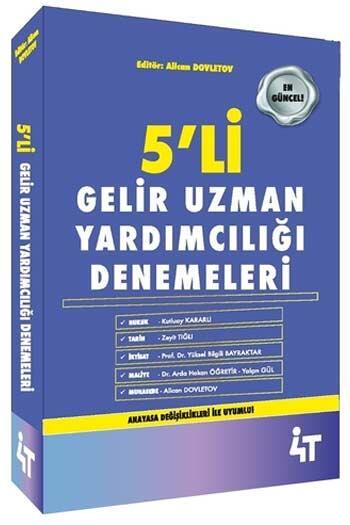 4T Yayınları - 4T Yayınları Gelir Uzman Yardımcılığı 5 Deneme