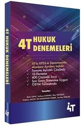 4T Yayınları - 4T Yayınları Hukuk Denemeleri