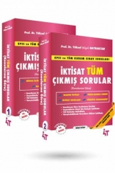 4T Yayınları - 4T Yayınları İktisat Tüm Çıkmış Sorular 13. Baskı