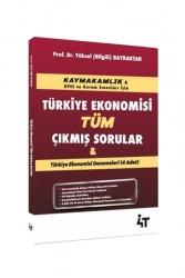 4T Yayınları - 4T Yayınları Kaymakamlık Türkiye Ekonomisi Tüm Çıkmış Sorular