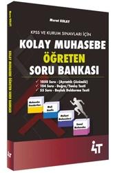 4T Yayınları - 4T Yayınları Kolay Muhasebe Öğreten Soru Bankası