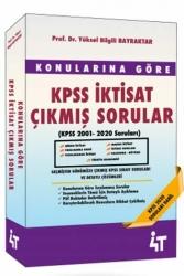 4T Yayınları - 4T Yayınları KPSS İktisat Konularına Göre Çıkmış Sorular