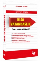 4T Yayınları - 4T Yayınları KPSS Kısa Vatandaşlık Özet Ders Notlar