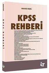 4T Yayınları - 4T Yayınları KPSS Rehberi