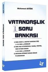 4T Yayınları - 4T Yayınları KPSS Vatandaşlık Soru Bankası