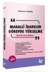 4T Yayınları - 4T Yayınları Mahalli İdareler Görevde Yükselme Ayrıntılı Soru Bankası 2.Baskı