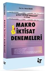 4T Yayınları - 4T Yayınları Makro İktisat Tamamı Çözümlü 16 Deneme