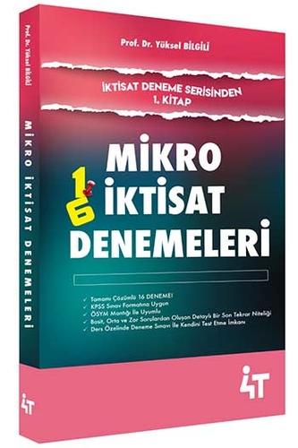 4T Yayınları Mikro İktisat Denemeleri