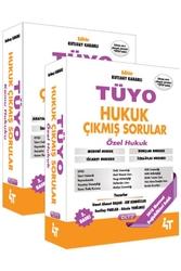 4T Yayınları - 4T Yayınları TÜYO Hukuk Çıkmış Sorular 2 Cilt